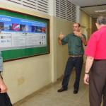 Visita do Chefe de Pesquisa da Força Aérea Americana (USAF), Dr. Harold Weinstock e de pesquisadores da Base Aérea de Hanscom - Foto 11