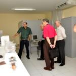 Visita do Chefe de Pesquisa da Força Aérea Americana (USAF), Dr. Harold Weinstock e de pesquisadores da Base Aérea de Hanscom - Foto 15