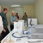 Visita do Chefe de Pesquisa da Força Aérea Americana (USAF), Dr. Harold Weinstock e de pesquisadores da Base Aérea de Hanscom - Foto 16