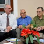 Visita do Chefe de Pesquisa da Força Aérea Americana (USAF), Dr. Harold Weinstock e de pesquisadores da Base Aérea de Hanscom - Foto 3