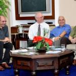 Visita do Chefe de Pesquisa da Força Aérea Americana (USAF), Dr. Harold Weinstock e de pesquisadores da Base Aérea de Hanscom - Foto 5