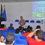 Visita do Chefe de Pesquisa da Força Aérea Americana (USAF), Dr. Harold Weinstock e de pesquisadores da Base Aérea de Hanscom - Foto 7